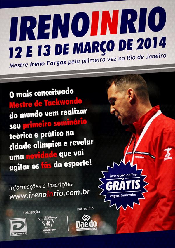 Ireno in Rio - 2014