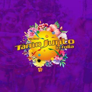 Bloco Tamo Junto in Folio - Design abadá Carnaval carioca 2019
